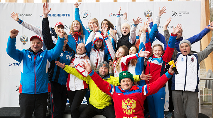 The Russian Bobsleigh and Skeleton Championship was held in Sochi with the support of Gosloto